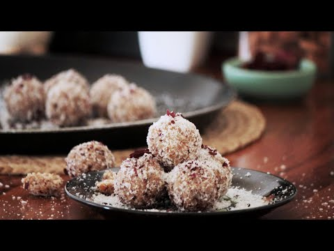 ''5 MINUTE'' Coconut Almond Laddu | Perfect Quarantine Recipe - Quick, Easy & Sweet :)