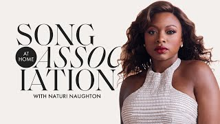 "Naturi Naughton Sings Brandy, Ludacris, and ""Big Rich Town"" in a Game of Song Association 