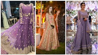 Exclusive Fancy Wear Long Frocks Designs Collection