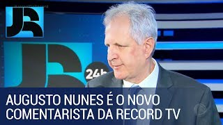 Augusto Nunes é o novo comentarista de política da Record TV