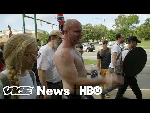 'I'm terrified': White nationalist Christopher Cantwell cries in video about Charlottesville protest