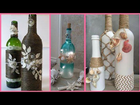 latest-bottle-craft-ideas-reuse-old-bottles-decoration-for-home-decor