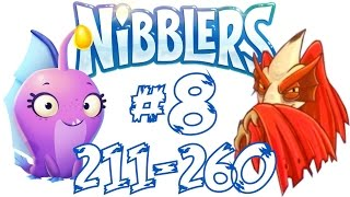 nibblers 08 espaol lvl 211 260 boss tifodactilo flappydactyl gameplay walkthrough rovio