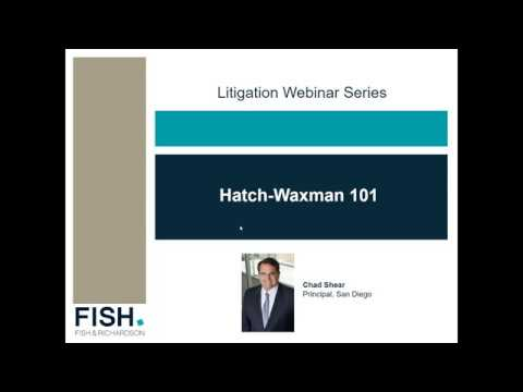 Webinar | Hatch-Waxman 101