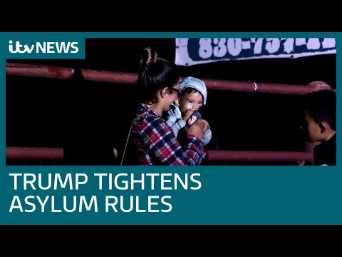 The Migrants Trying To Cross The US Border As Trump Tightens Laws | ITV News