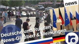 News: Was glauben Deutsche und Russen?