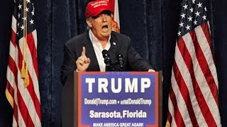 Donald Trump attends rally in Ga.