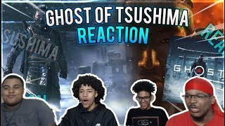 Ghost of Tsushima (MUST WATCH) - E3 2018 Gameplay Debut PS4 / REACTION!!