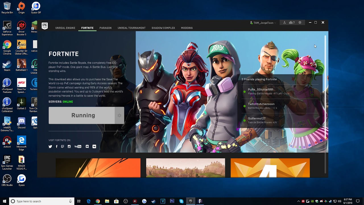 Fortnite/EPIC Games Launcher CRASH UPDATE (FIXED/SOLUTION ...