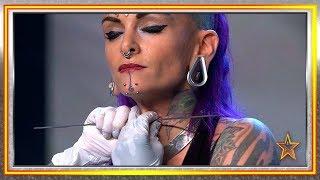 ¡Vuelve para emocionarse y atravesar su garganta una aguja! | Audiciones 5 | Got Talent España 2019