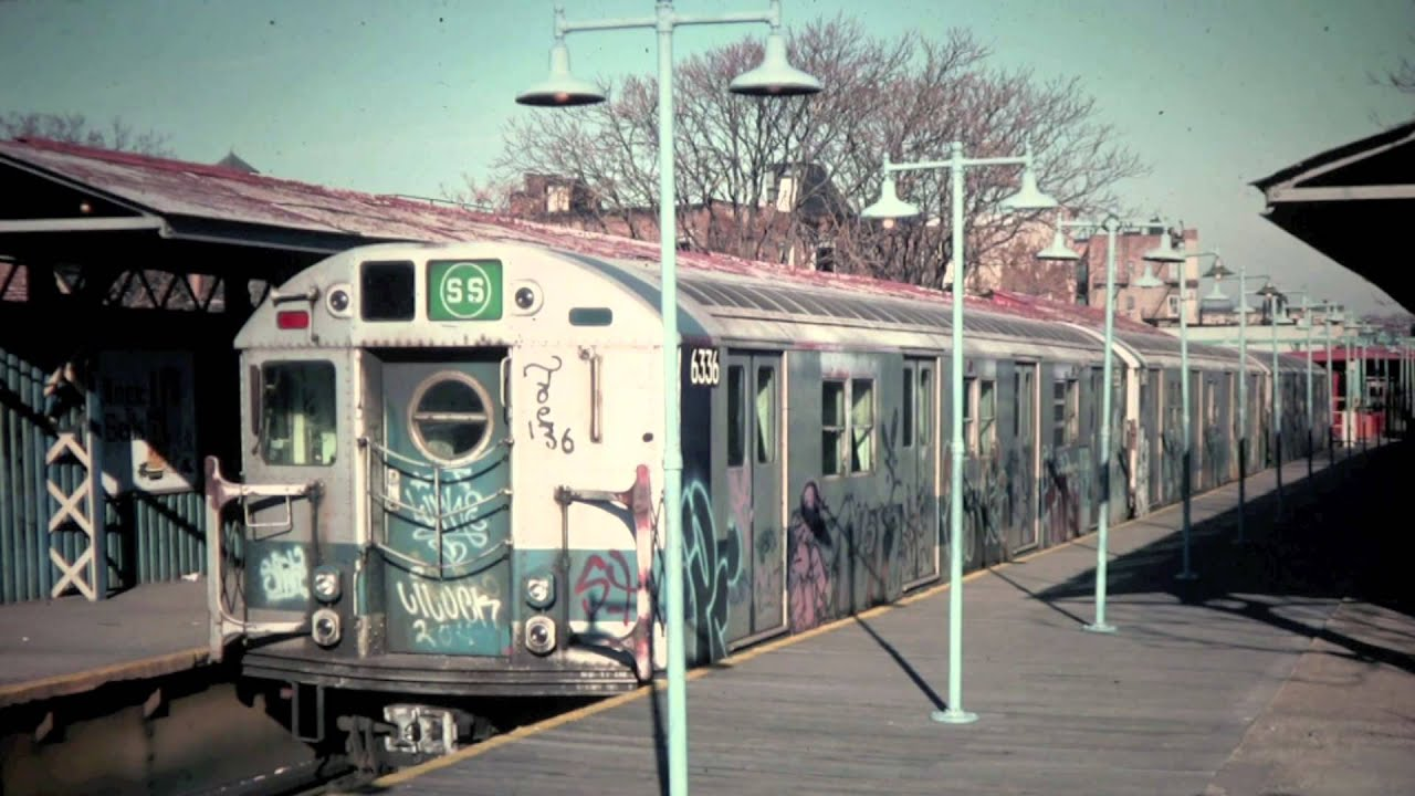 New York City Subway Map 1960s.Nyc Transit 1970s Slides Hd