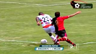 Ayacucho FC vs Fbc Melgar 1-2 | Resumen y Goles - Clausura -  | 720p HD | - 24/10/2015