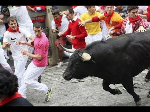 Испания. Игры с быком.