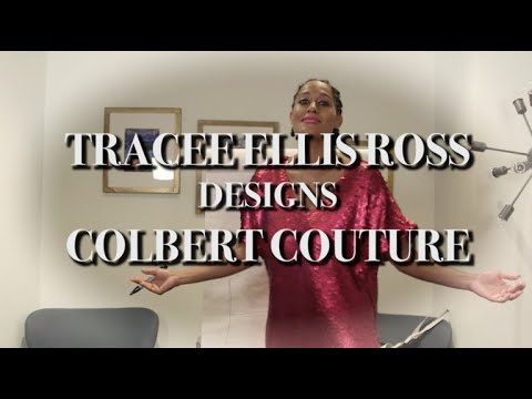 Tracee Ellis Ross Designs 'Colbert Couture'