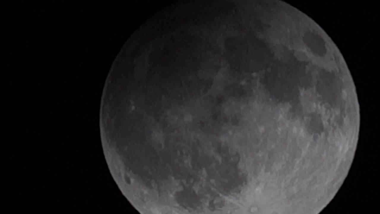 Eclissi Lunare Penombrale Parziale Youtube
