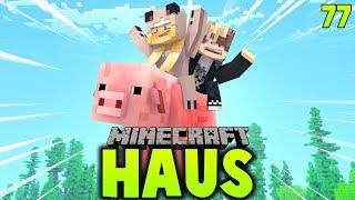 WIR FLIEGEN AUF EINEM RIESIGEN SCHWEIN! ✿ Minecraft HAUS #77 [Deutsch/HD]
