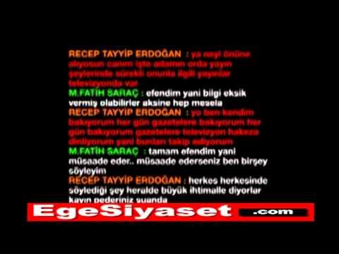 Erdoğan'ın Yeni Ses Kaydı: ALO FATİH SARIGÜL'Ü SANSÜRLE
