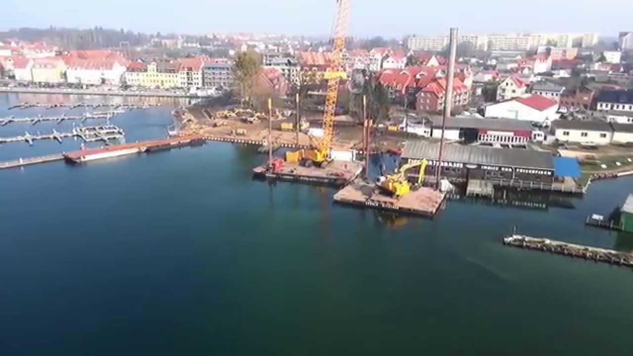 Baustelle Hafen Waren Müritz 2015 - Luftaufnahmen Mecklenburg- Vorpommern