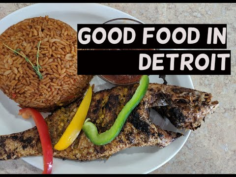 Eating Around Detroit | First Time Trying Senegalese Food