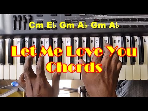 Let me love you mario keyboard notes