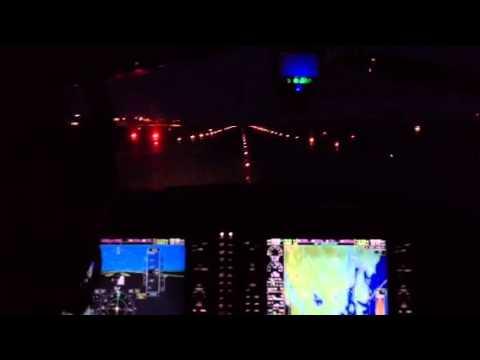 Pilot Flight Academy - Night Landing Torp Sandefjord Airport