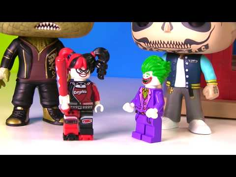 Opening Batman Lego Movie Toy Surprise Boxes