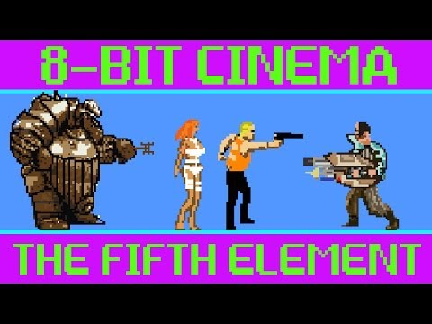 See The Fifth Element imagined as a 16-bit video game