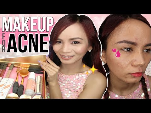 MINERAL MAKEUP FOR ACNE (Step-by-step Tutorial)