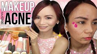 MAKEUP FOR ACNE PRONE SKIN (Ellana Mineral Cosmetics)