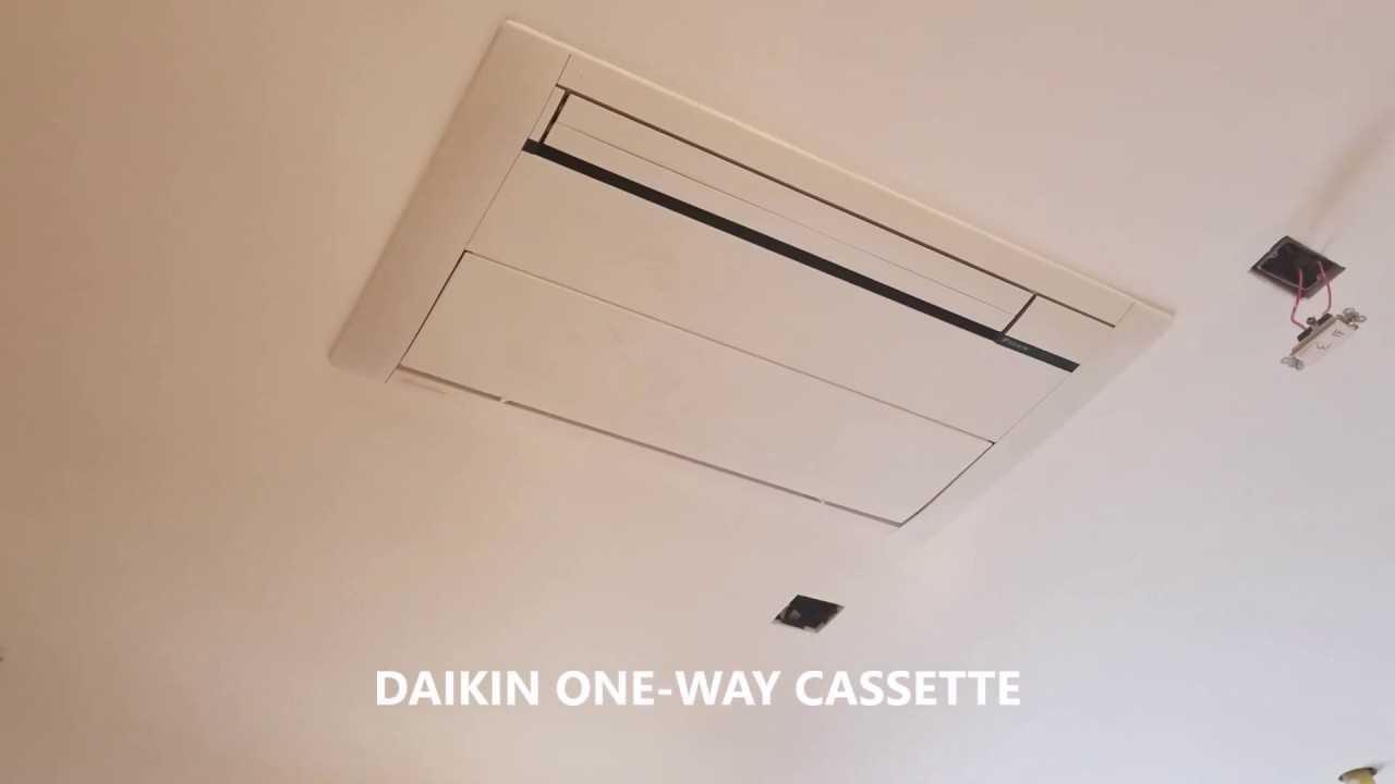 Daikin Vrv 13 Zone One Way Cassette Youtube