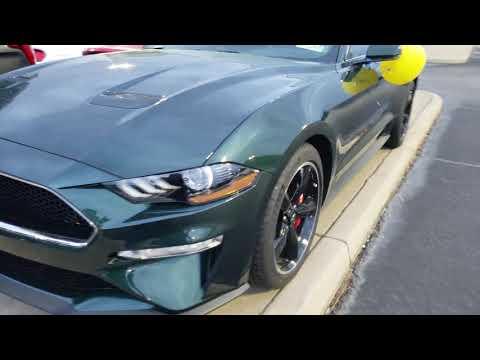 New – Ford Mustang Bullitt Test Ride