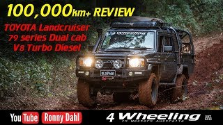 TOYOTA Landcruiser 79 series 100,000km REVIEW