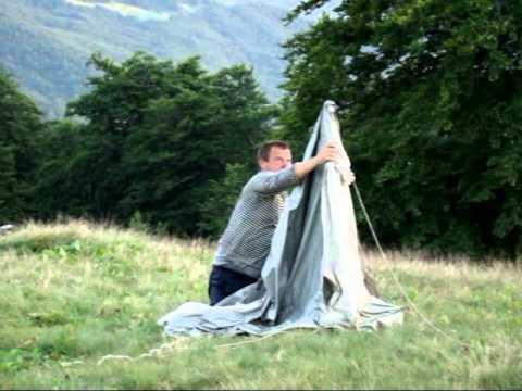 Как Правильно Поставить Палатку Старого Образца - фото 10