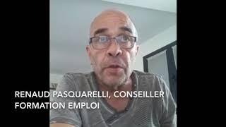 Renaud Pasquarelli, Conseiller formation emploi