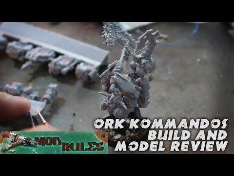 Model Review: ForgeWorld 40k Ork Kommandos