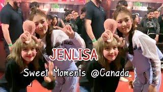 JENLISA Sweet Moments @Canada ❤ 6