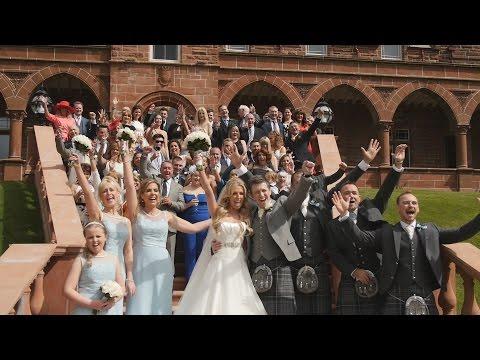 Caroline & Mark | Wedding Film | Boclair House Hotel | Glasgow | Scotland