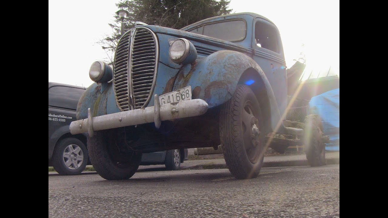 Barn Find Road Side Edition 1939 Ford Truck