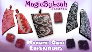 Polymer Clay Mokume Gane Technique Experiments MagicByLeah