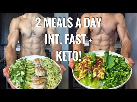 2 MEALS A DAY! (INT. FASTING + KETO) NEW MEALS!