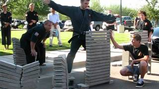Sibak Nic Corder Brick Breaking at George Lim Invitational Karate Championships 2012