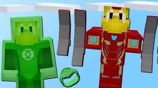 Gefährliche Superhelden! (Iron Man, Green Lantern, Hulk)