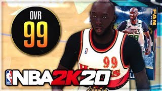 Tacko Fall has a 99 ovr galaxy opal in nba 2k20 myteam?? We're in Endgame now lads....