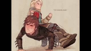 Hiccup and Astrid Coṁic top 10☆How to Train Your Dragon