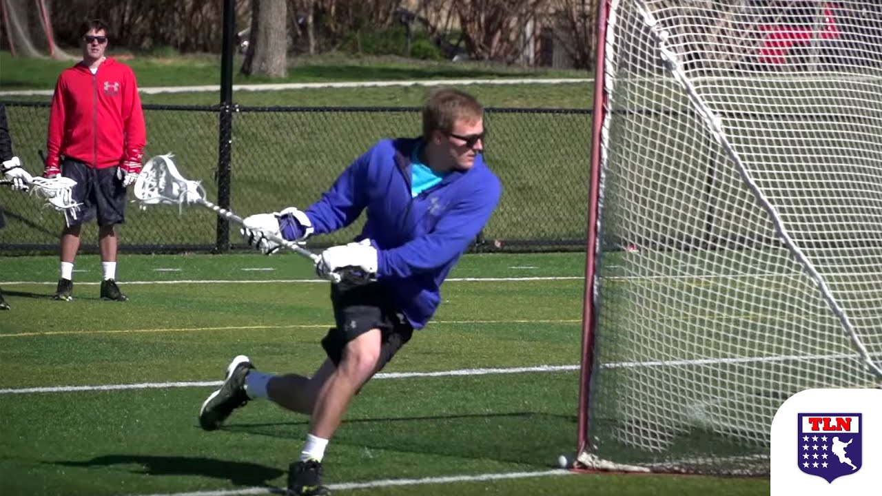 Dodge from X with Stanwick Lacrosse | Z Dodge Drill - YouTube