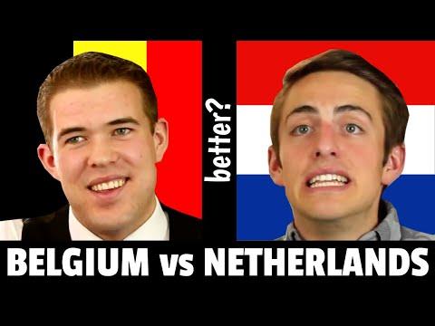 Living in the Netherlands vs Living in Belgium