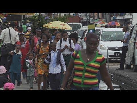 Guyana fights to