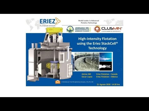 Webinar: High-Intensity Flotation using the Eriez StackCell® Technology.
