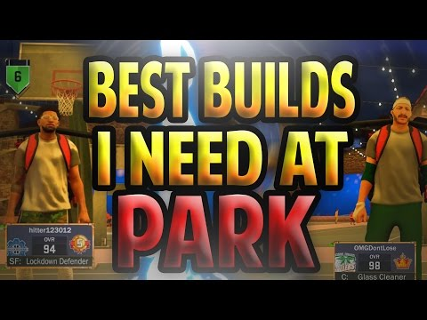 BEST ARCHETYPE/PLAYER BUILD I NEED TO PLAY w/ IN PARK!! • WOULD YOU WANNA RUN w/ EASY BREEZY?!!