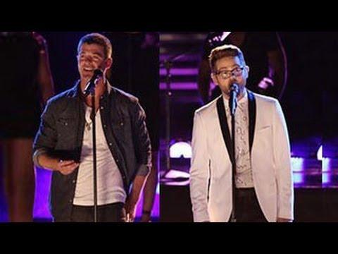The Voice Season 6 (USA) : Josh Kaufman  The Winner & Robin Thicke Perform  'Get Her Back'